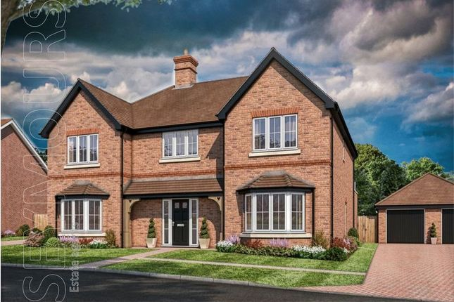 Thumbnail Detached house for sale in Amlets Lane, Cranleigh