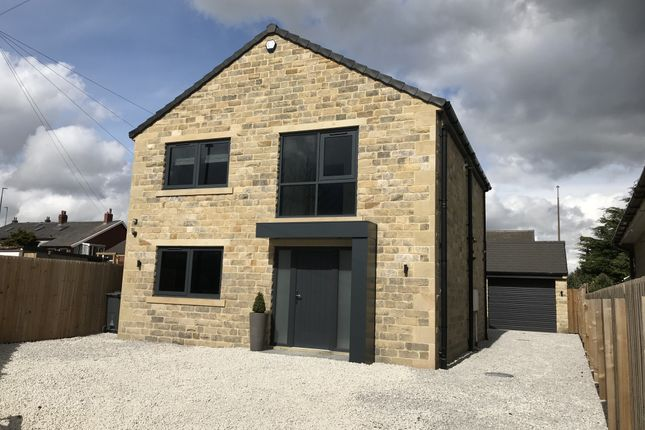 Thumbnail Detached house for sale in Longwood Edge Road, Salendine Nook, West Yorkshire