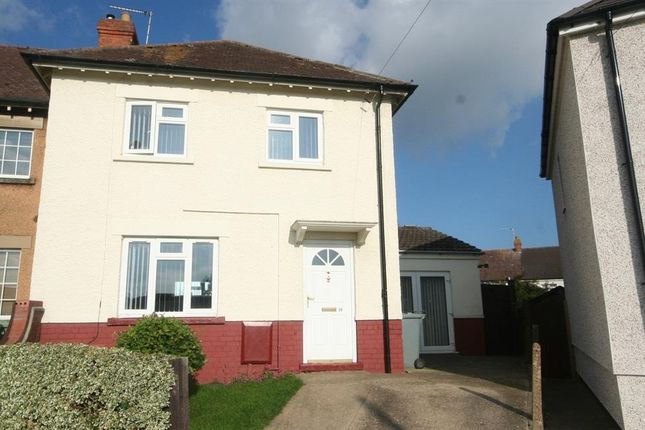 Thumbnail End terrace house to rent in Worcester Crescent, Stamford