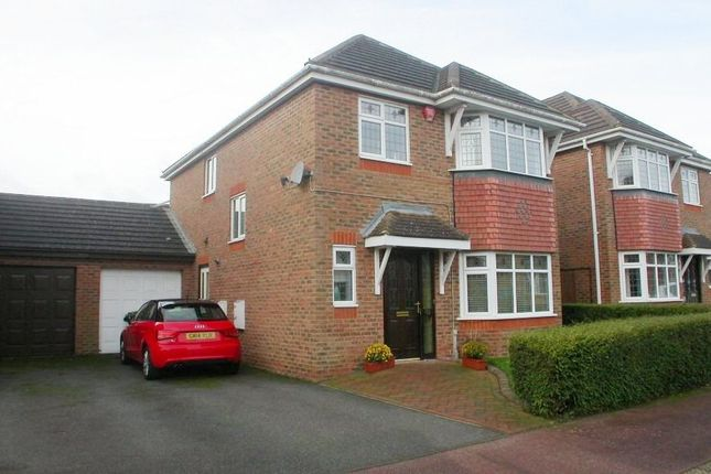 Thumbnail Detached house to rent in Wiltshire Way, Milton Keynes