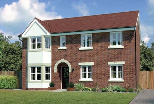"""Thumbnail Detached house for sale in """"Hollandswood"""" At Bye Pass Road, Davenham, Northwich CW9, Davenham,"""