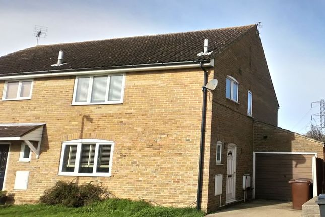 Thumbnail Semi-detached house for sale in Paston Close, South Woodham Ferrers, Chelmsford