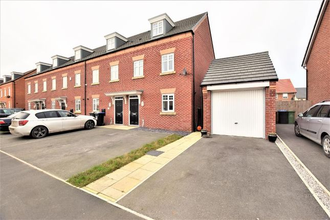Thumbnail End terrace house for sale in Hawthorn Drive, Thornton, Thornton Cleveleys, Lancashire