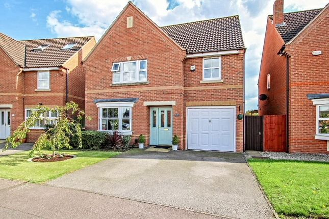 Thumbnail Detached house for sale in Croyland Drive, Elstow