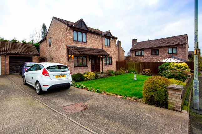 Thumbnail Detached house for sale in Shire Court, Quakers Yard, Treharris