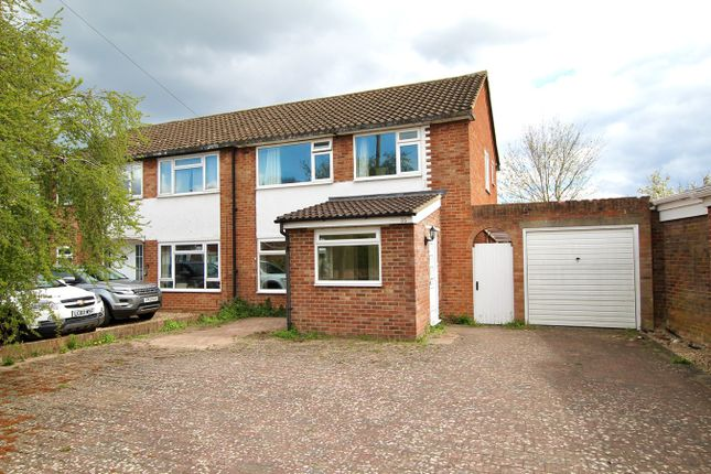 Thumbnail Semi-detached house for sale in Rosewood Drive, Shepperton