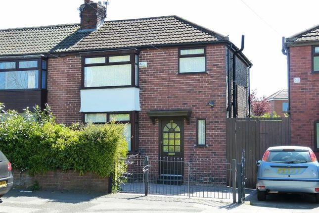 Thumbnail Semi-detached house for sale in Manor Road, Droylsden, Manchester