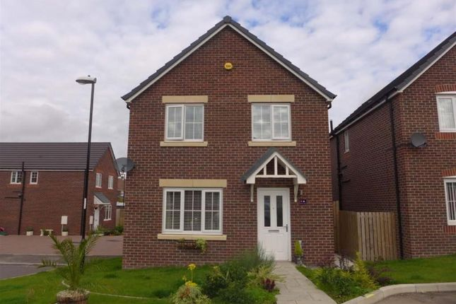 Thumbnail Detached house for sale in Kestrel Close, Easington Lane, Houghton Le Spring