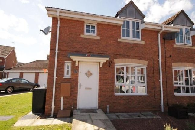 Thumbnail Semi-detached house to rent in Rivelin Park, Kingswood, Hull