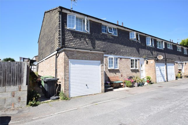 Thumbnail End terrace house to rent in Quebec Close, Bexhill-On-Sea, East Sussex