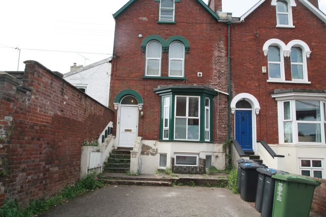 Thumbnail Flat to rent in St James Road, St James Exeter