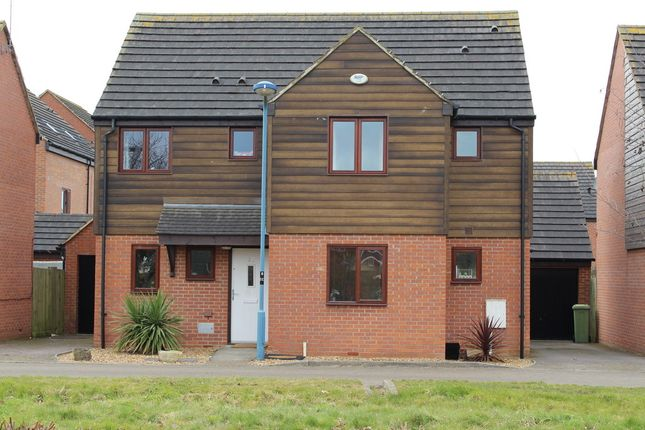 Thumbnail Detached house to rent in Chasewater Crescent, Broughton, Milton Keynes