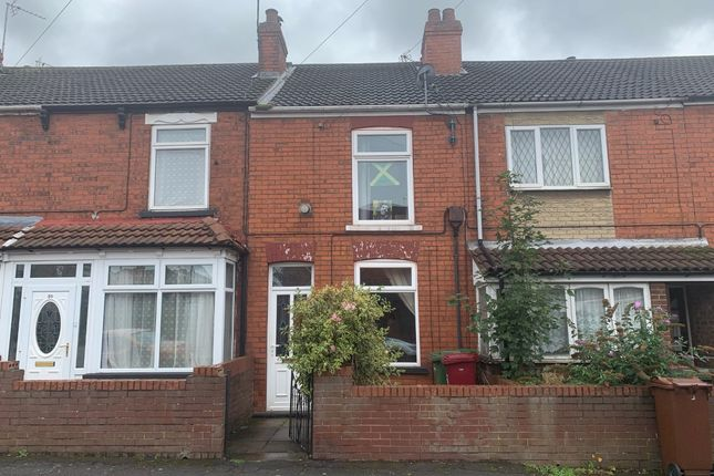 Thumbnail Terraced house to rent in Smithfield Road, Scunthorpe