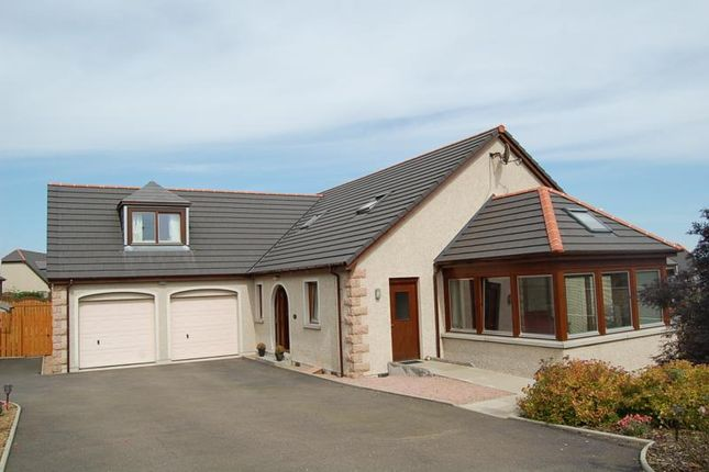 Thumbnail Detached house to rent in Brockhill Rise, Inverurie, Aberdeenshire