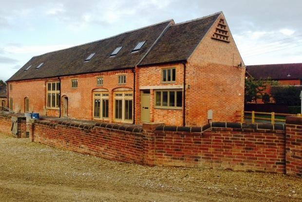 Thumbnail Barn conversion to rent in Old Hall Lane, Fradley, Lichfield