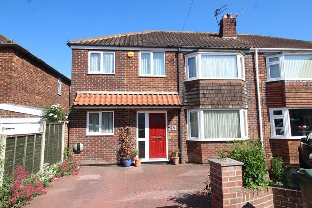 Semi-detached house for sale in Robin Hood Crescent, Edenthorpe, Doncaster