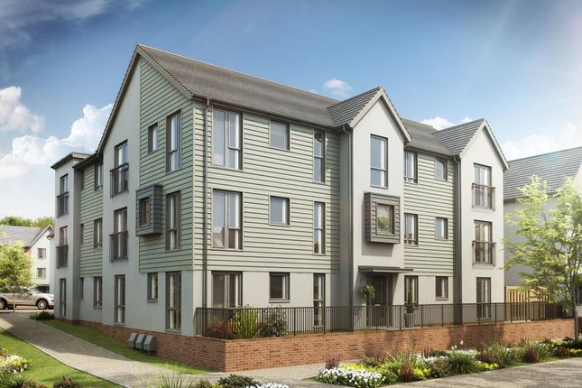 "Thumbnail Flat for sale in ""Aspen Flats"" at Rhodfa Cambo, Barry"