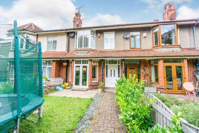 Thumbnail Terraced house for sale in Grosvenor Road, Hoylake, Wirral