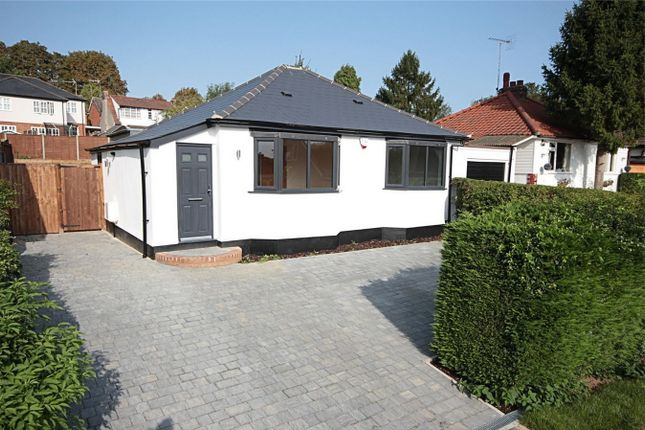 Thumbnail Detached bungalow for sale in Forebury Avenue, Sawbridgeworth, Hertfordshire