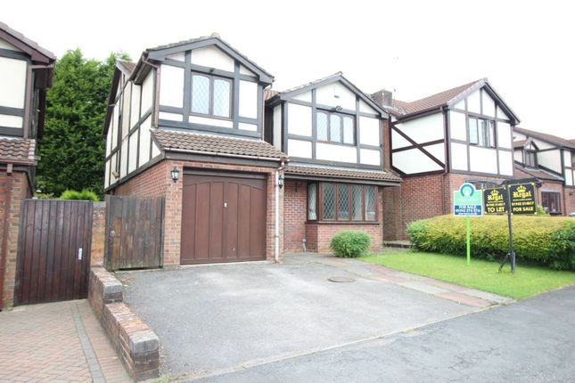Thumbnail Detached house for sale in Satinwood Close, Ashton-In-Makerfield, Wigan