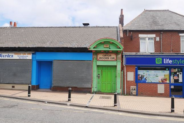 Thumbnail Commercial property for sale in Palace Road, Bedlington