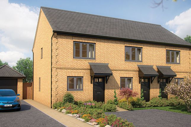 """2 bed terraced house for sale in """"The Hawthorn"""" at Yardley Road, Olney MK46"""
