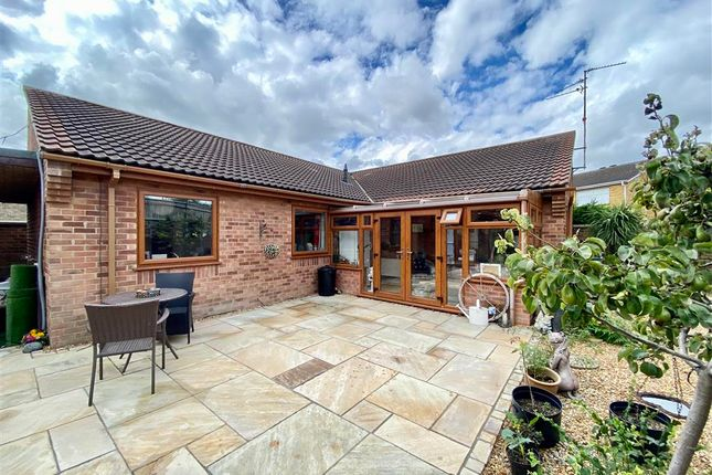 Thumbnail Detached bungalow for sale in Barham Close, Stanground, Peterborough