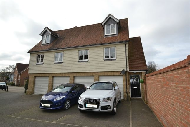 Thumbnail Flat for sale in Cambie Crescent, Colchester, Essex