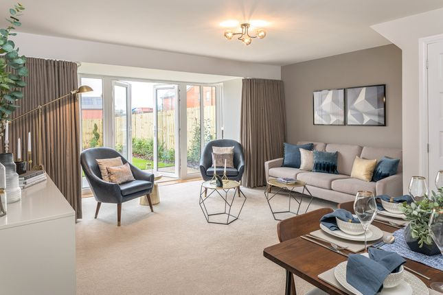 """Thumbnail Semi-detached house for sale in """"Woodbridge"""" at Botley Road, Southampton"""