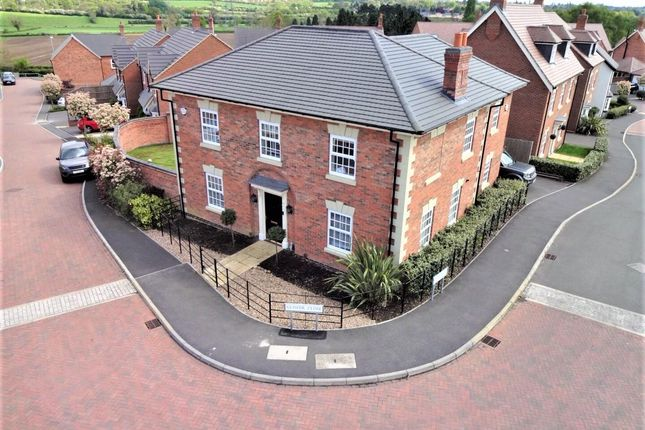 Thumbnail Detached house for sale in Glover Close, Anstey, Leicester