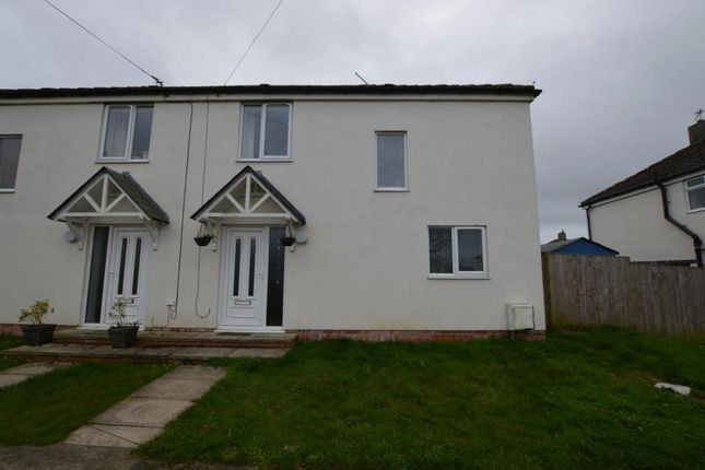 Thumbnail Semi-detached house to rent in Anson Road, St. Eval, Wadebridge, Cornwall