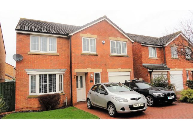 Thumbnail Detached house for sale in Kentra Close, Redcar