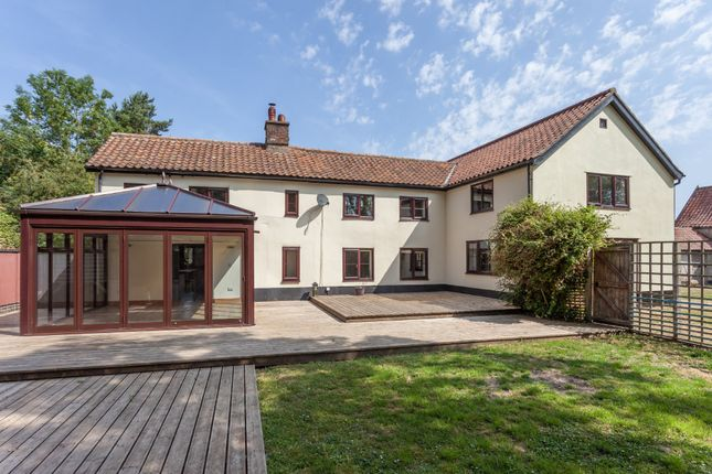 Thumbnail Detached house for sale in Broadgate Lane, Great Moulton, Norwich