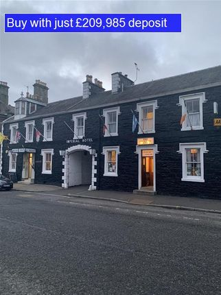 Thumbnail Restaurant/cafe for sale in Rowena Place, King Street, Castle Douglas