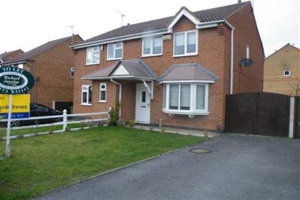 Thumbnail Semi-detached house to rent in Carter Lane East, South Normanton, Alfreton