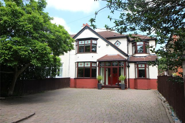Thumbnail Semi-detached house for sale in Roby Road, Huyton, Liverpool, Merseyside