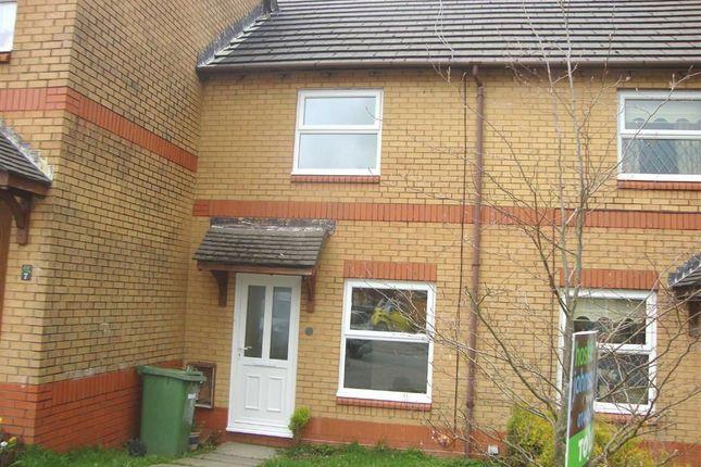 Thumbnail Terraced house to rent in Cwrt Y Garth, Beddau, Rhonnda Cynon Taff