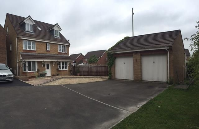 Thumbnail Detached house for sale in Sycamore Close, Miskin, Pontyclun