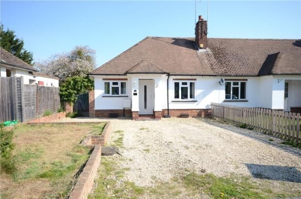 Thumbnail Bungalow for sale in Rectory Road, Hook
