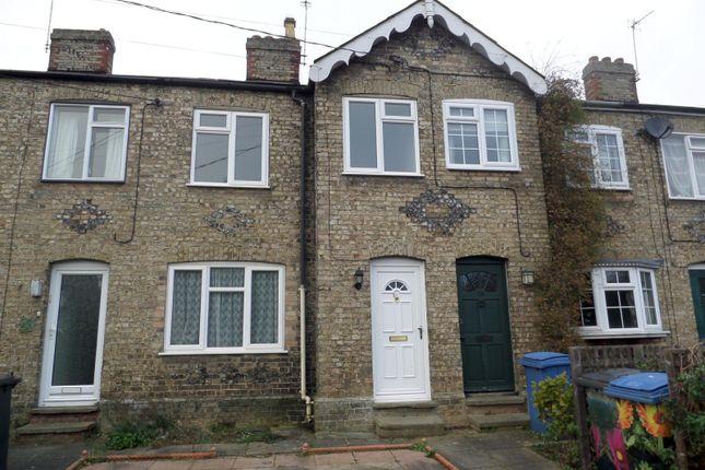 Thumbnail Terraced house to rent in Waldingfield Road, Sudbury