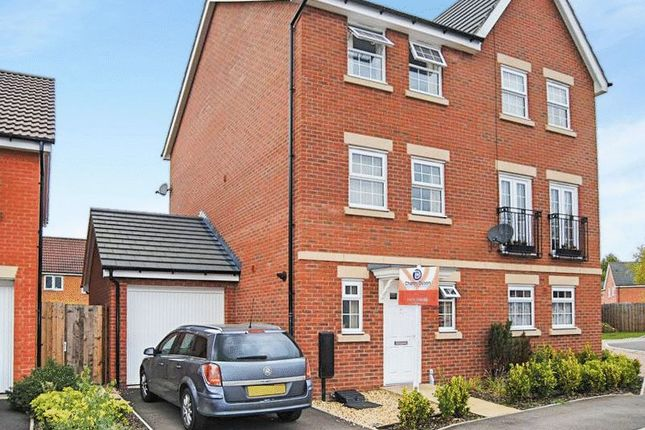 4 bed semi-detached house for sale in Bradley Drive, Grantham