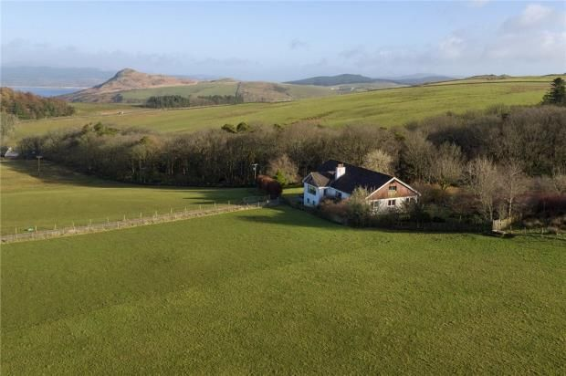 4 bedroom detached house for sale in Ronachan Farm House, Clachan, Tarbert, Argyll And Bute