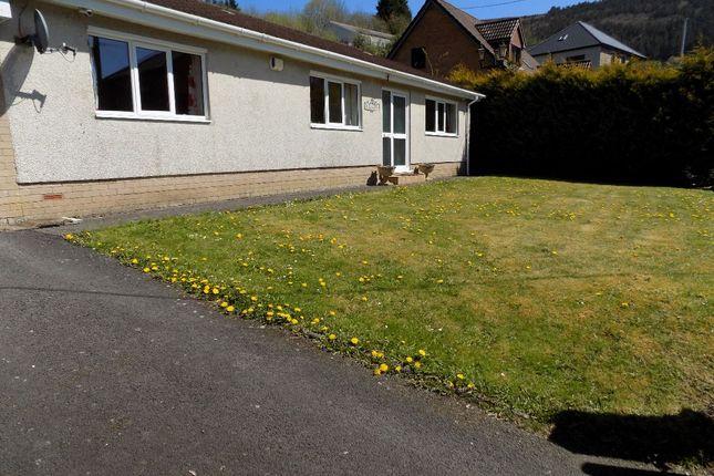 Thumbnail Bungalow for sale in Jokade, Duffryn Road, Abertillery. NP131Hj.