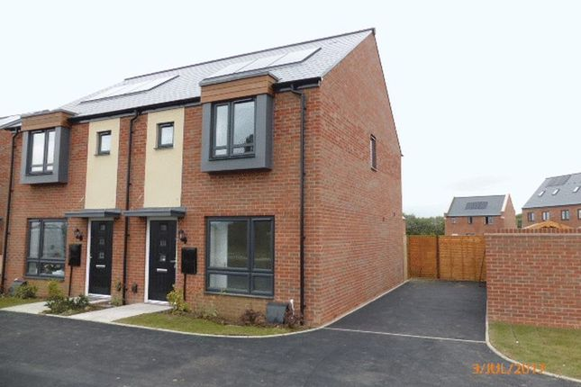 Thumbnail Semi-detached house to rent in Sapphire Road, Bishops Cleeve, Cheltenham