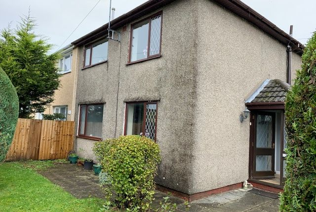 Thumbnail Semi-detached house for sale in Darby Crescent, Ebbw Vale, Gwent