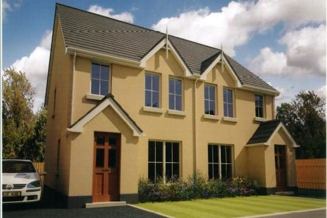 Thumbnail Semi-detached house for sale in Olivers Close, Ballygalget Road, Newtownards