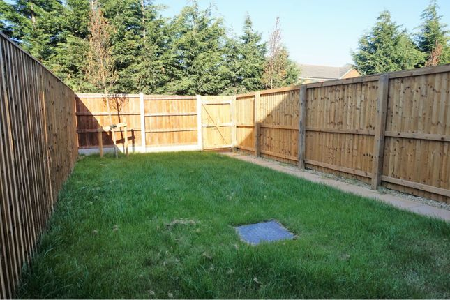 Rear Garden of Downy Close, Cottam, Preston PR4
