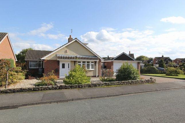 Thumbnail Detached bungalow for sale in Hillview Crescent, Baldwins Gate, Newcastle-Under-Lyme