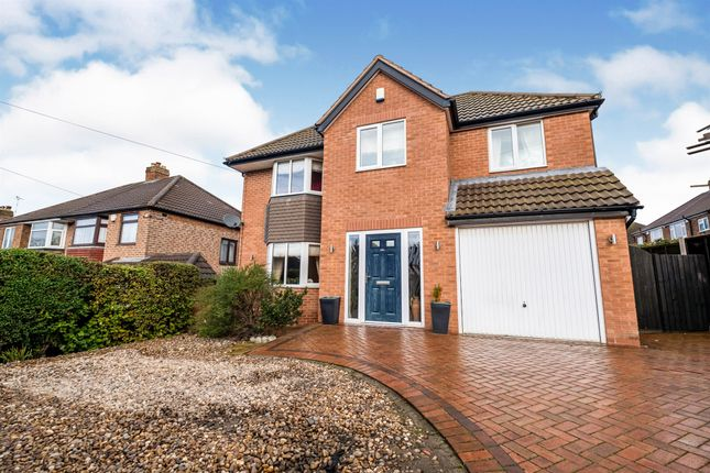 Thumbnail Detached house for sale in Merevale Road, Solihull