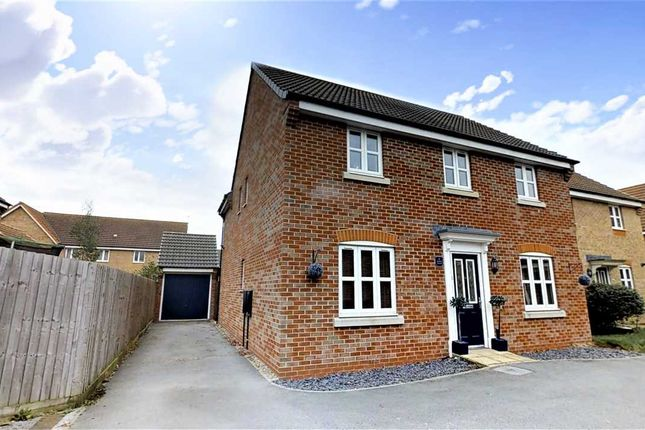 Thumbnail Detached house for sale in Octavian Crescent, North Hykeham, North Hykeham, Lincoln